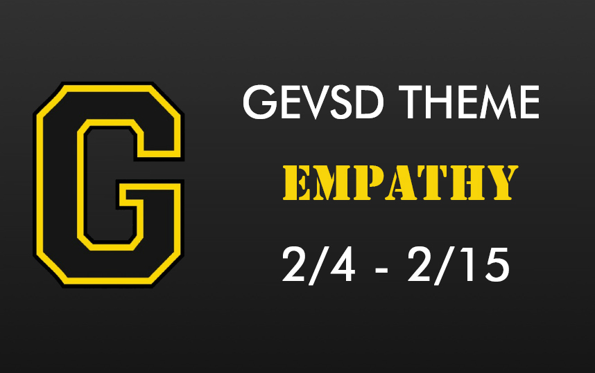 Theme for February 4th - February 15th - EMPATHY