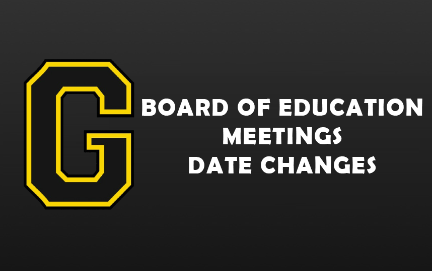 Board Meetings Date Changes