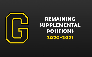 REMAINING SUPPLEMENTAL POSITIONS 2020-2021