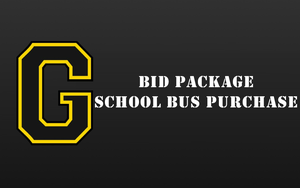 BID PACKAGE - SCHOOL BUS PURCHASE