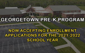 Pre-K - Now Accepting Enrollment Applications for the 2021-2022 School Year!