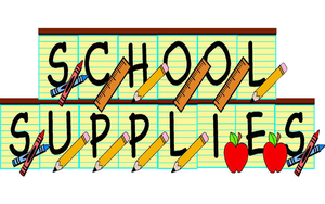 SCHOOL SUPPLY LISTS - 2020-2021
