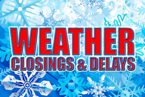 Weather Closing/Delay Information