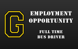 Employment Opportunity - Full Time Bus Driver