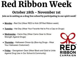 Jr./Sr. High School Red Ribbon Week