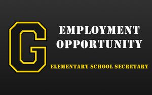 Employment Opportunity - Elementary School Secretary