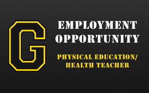 Employment Opportunity - Physical Education/Health Teacher