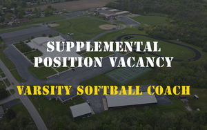 Supplemental Position Vacancy - Varsity Softball Coach