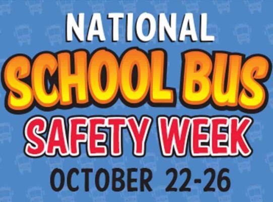 This week is National School Bus Safety Week!