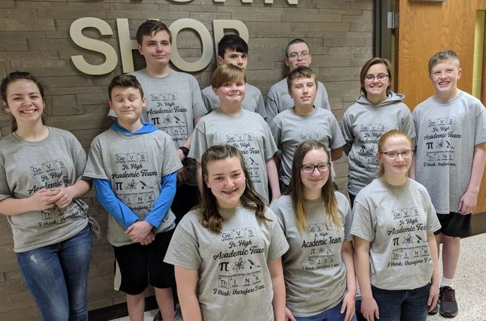 Junior High Academic Team