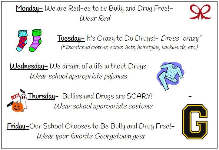 Elementary Red Ribbon Week